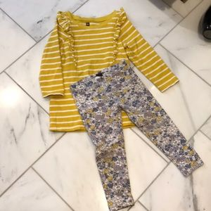 Tea Collection toddler girl outfit